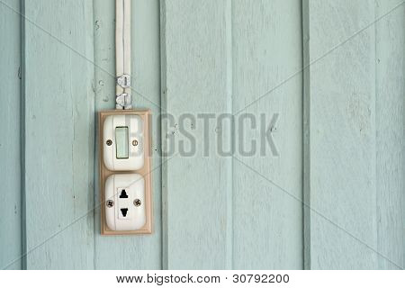 Switch And Power Outlet
