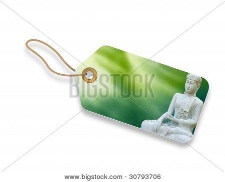 Etiqueta de Buda