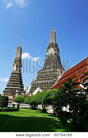 View of Wat Arun.