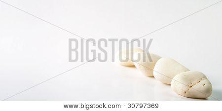white stone line