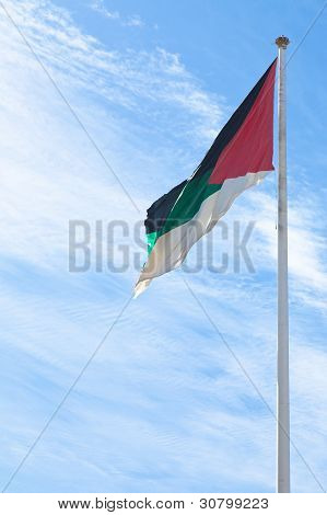Flag Of The Arab Revolt In Aqaba, Jordan