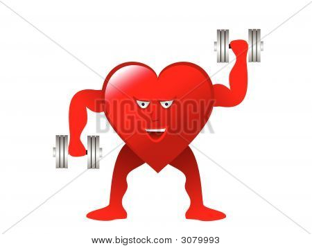 Healthy Heart Weightlifter