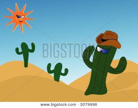 Cool Cactus Illustration