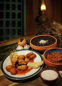 Постер, плакат: Тропический блюда
