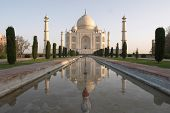 picture of mumtaj  - taj mahal - JPG