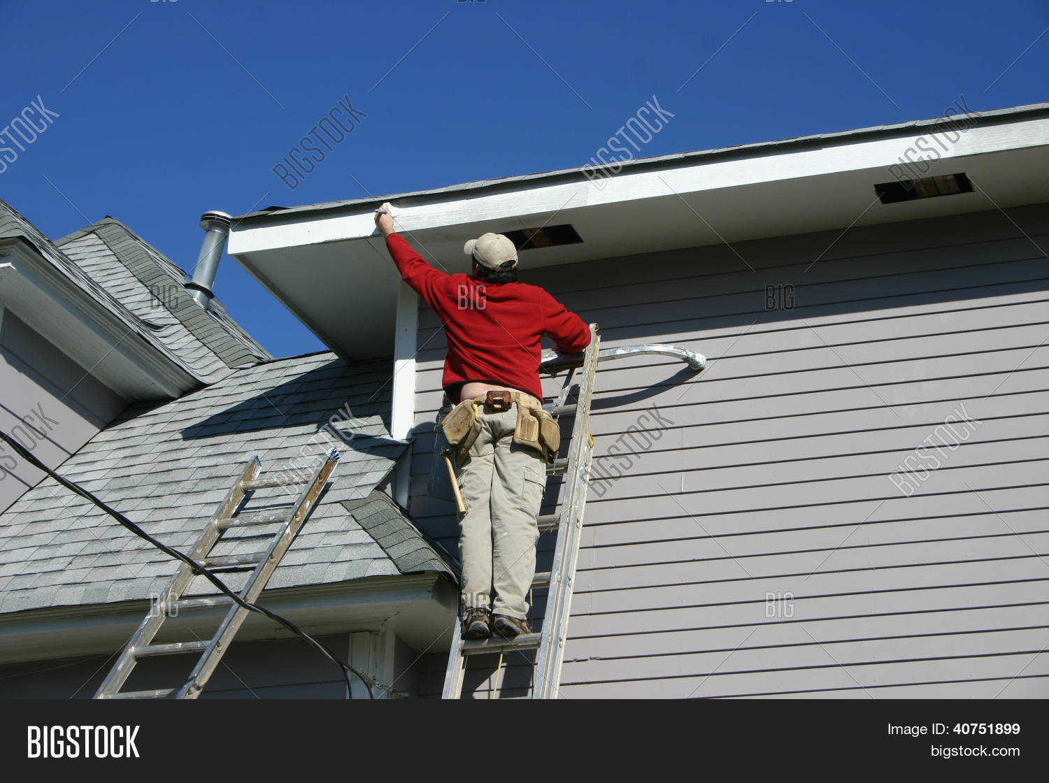 How to paint fascia boards - Painting The Fascia Board