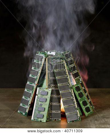 Burning Ram