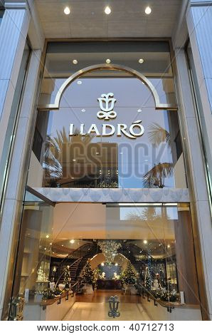 Lladro store at Rodeo Drive in Beverly Hills, California