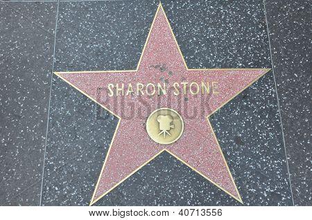 Sharon Stone's star