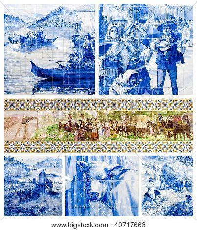 Portuguese Art Tiles