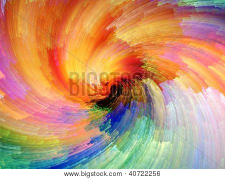 Digital Paint Vortex