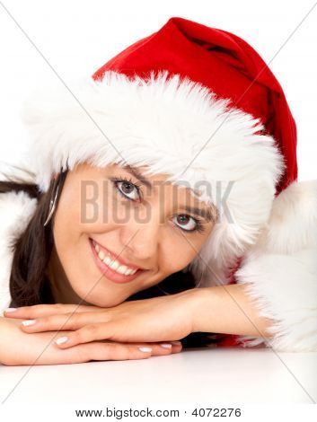 Christmas Girl Portrait