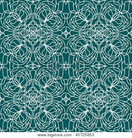 Seamless pattern tiffany
