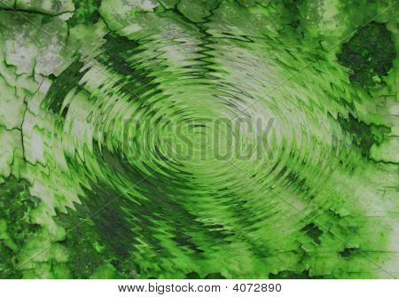 grüne Teich