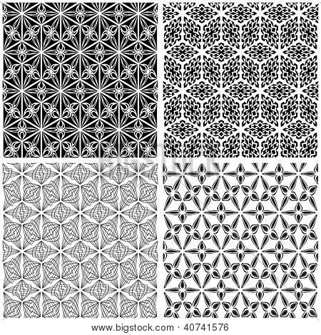 Seamless pattern. Abstract vector illustration.
