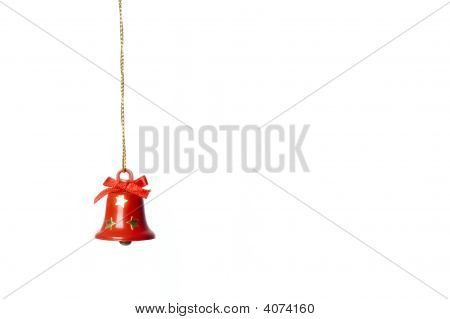 Jingle-Bell Hanging In White
