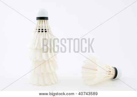 Stack Of Shuttlecock