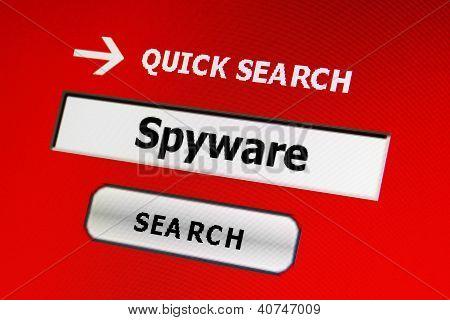 Concepto de spyware