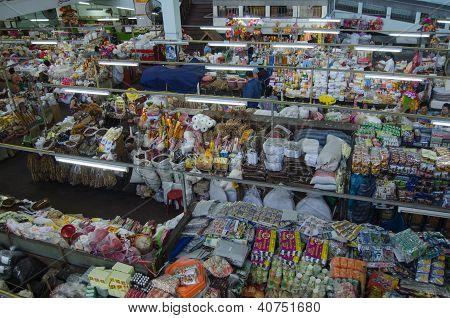 Interior, Warorot Market