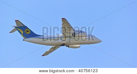 Antonov An-148 transport aircraft.