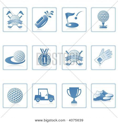 Web Icons : Golf I