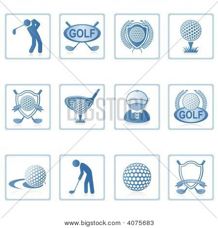 Web Icons : Golf Ii