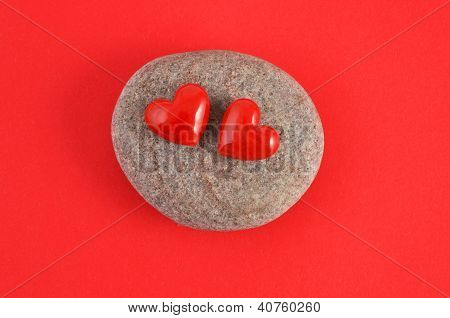 Rote Herz - red heart
