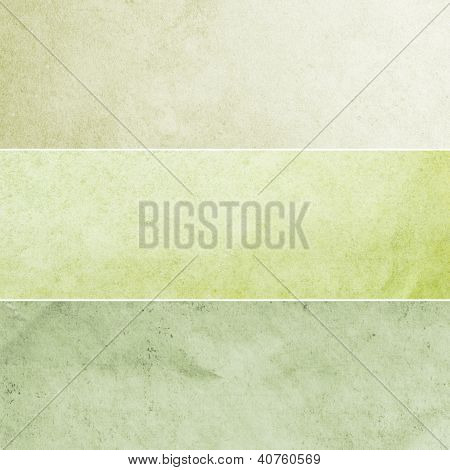 Green Vintage Backgrounds Collection