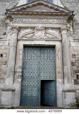 Enormous Church Door