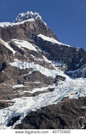 Mountain Peak At Torres Del Paine