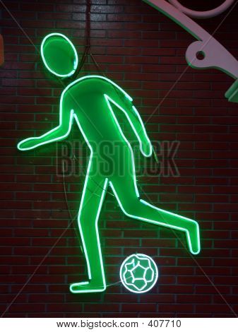 Football Neon Light