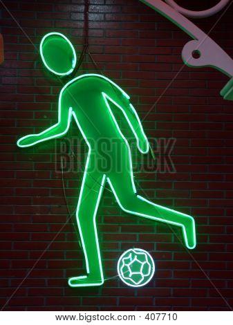 Football Neon Light
