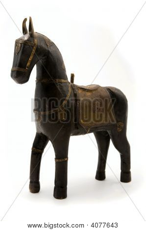 Old Wooden Toy Horse