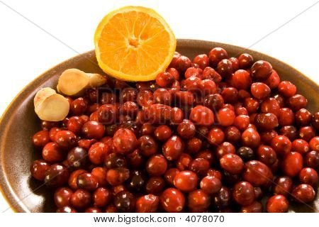 Cranberries, Ginger & Orange