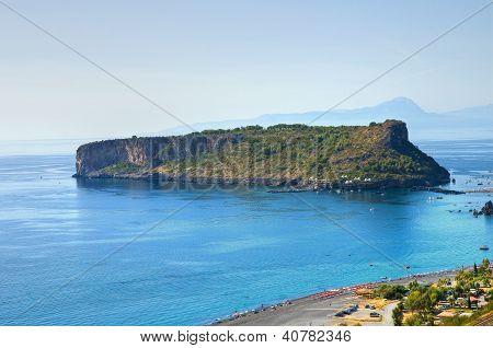 Dino Island. Praia a Mare. Calabria. Italy.
