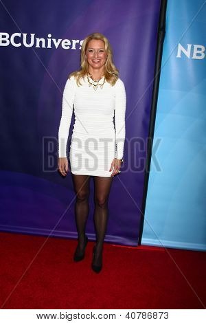 LOS ANGELES - JAN 6:  Katherine LaNasa attends the NBCUniversal 2013 TCA Winter Press Tour at Langham Huntington Hotel on January 6, 2013 in Pasadena, CA