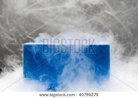 Container With Liquid Nitrogen