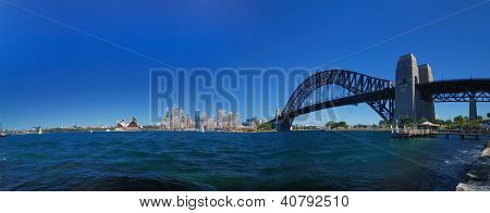 Sydney Harbour Skyline Panorama