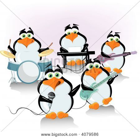 Penguin Rock And Roll