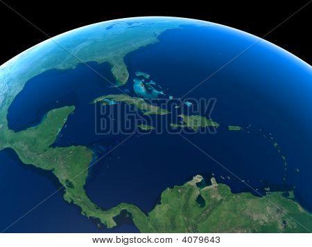 Earth - Central America