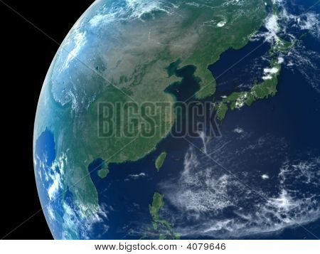 Earth - East Asia