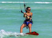Kite-surfing Girl