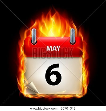 Burning calendar