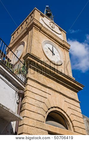 Clocktower. Manduria. Puglia. Italy.