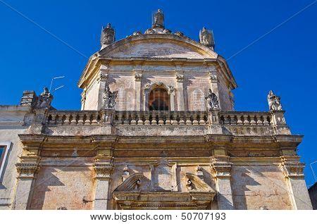 Church of Madonna del Carmine. Manduria. Puglia. Italy.