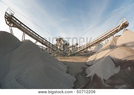 machine in the quarry rag