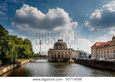River Spree And Museum Island, Berlin, Germany