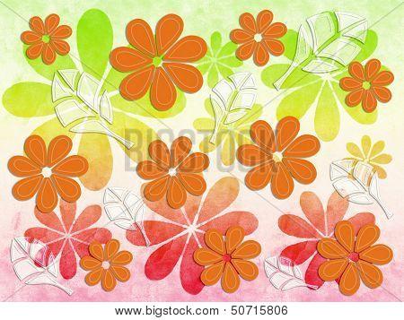 Floral Pattern Autumn