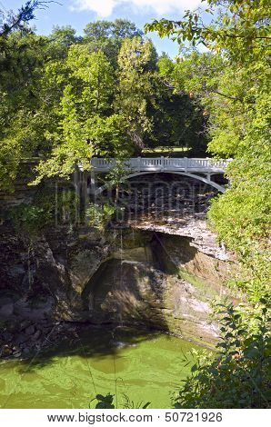 Minneopa State Park Bridge And Gorge