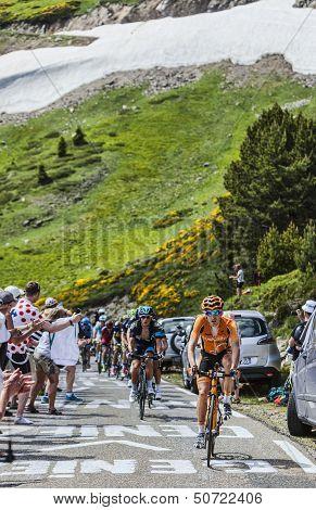 The Cyclist Igor Anton